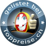 Top-Verkäufer und gelistet bei toppreise.ch